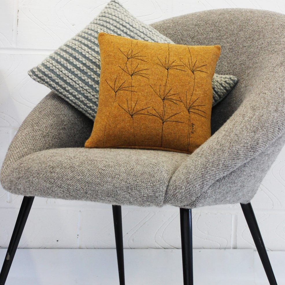 Wildflower cushion 30 cms goldcrest