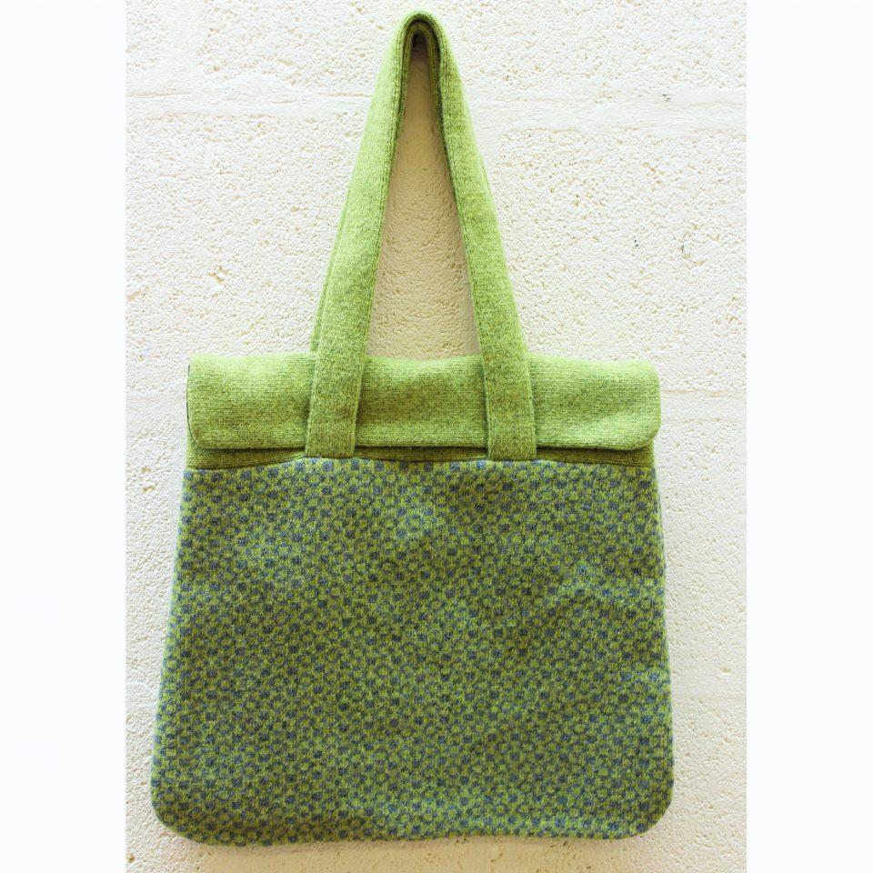 Green goemetic flap