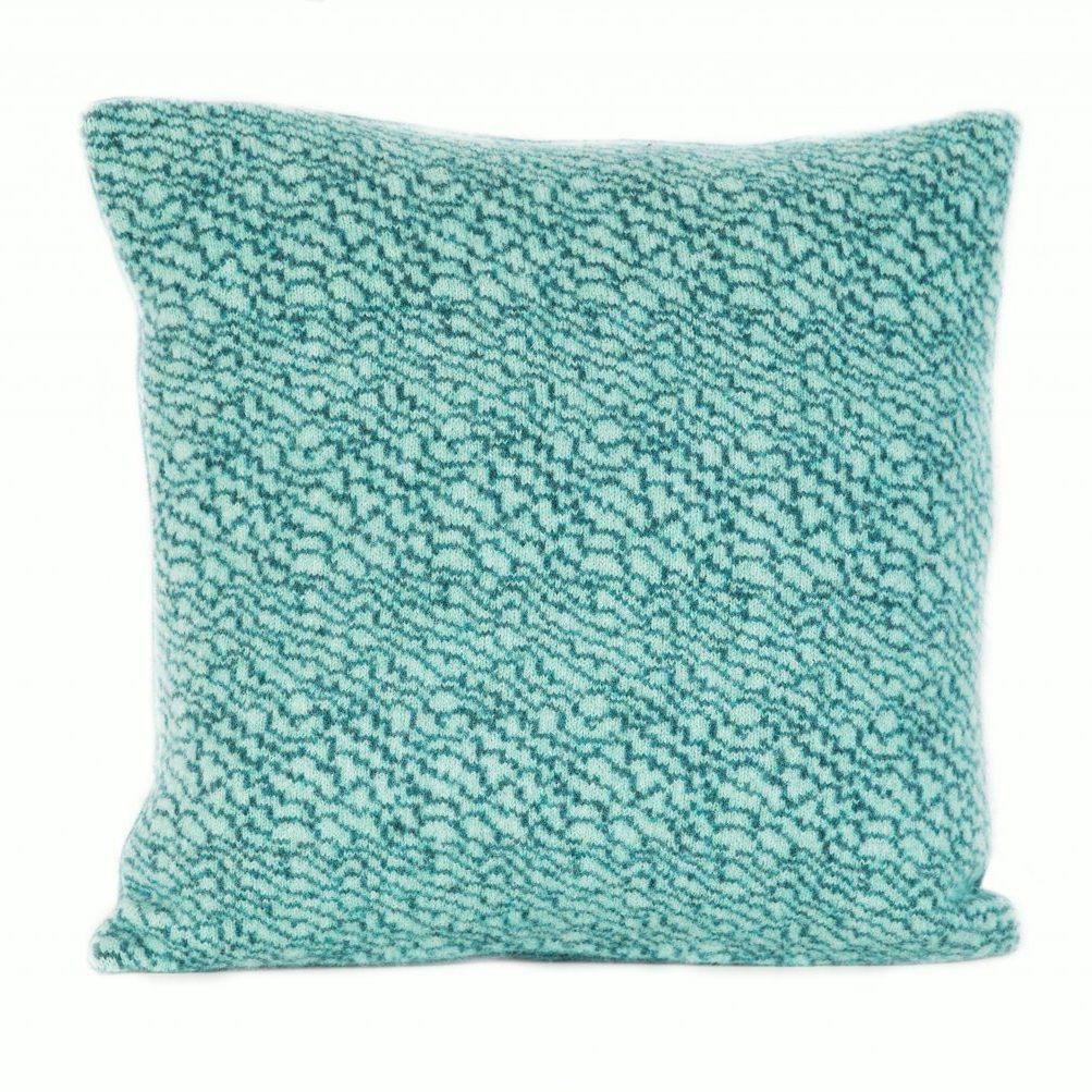 Jade & Marlin strata cushion
