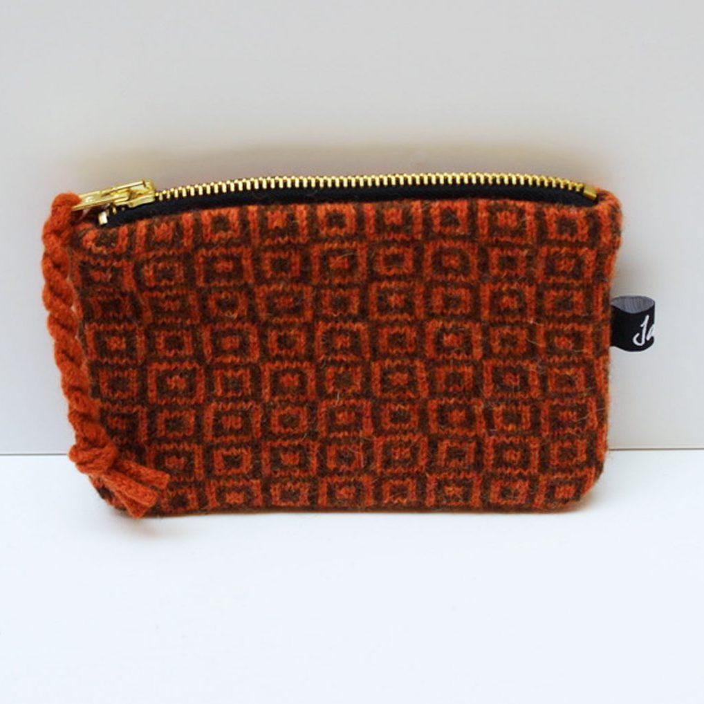 Rust coin purse