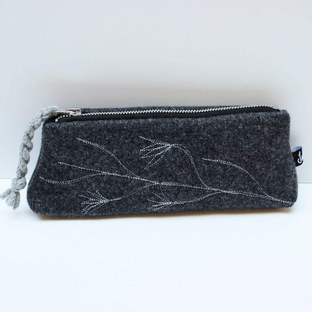 charcoal pencil case