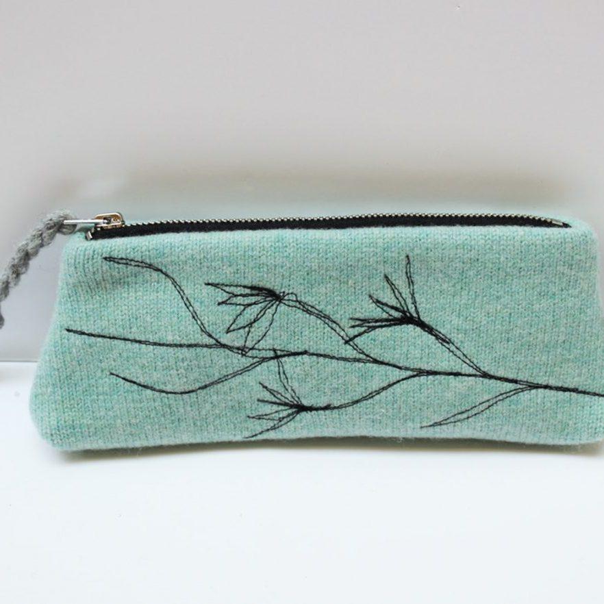 jade pencil case