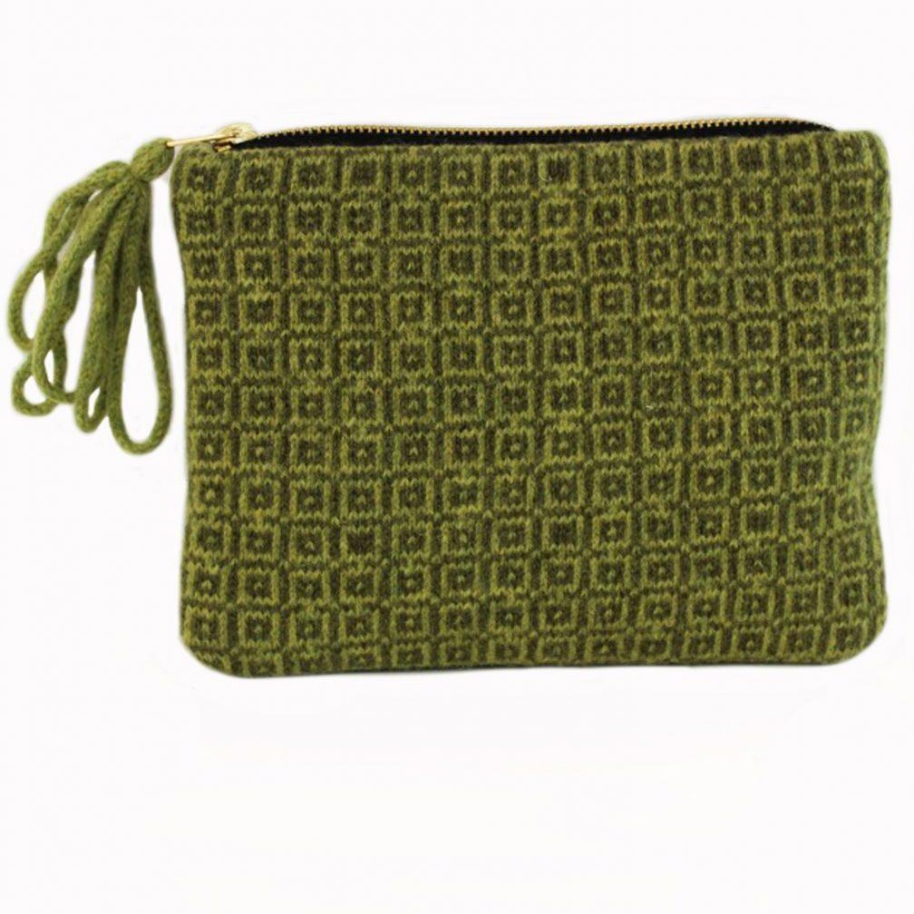 tile green purse